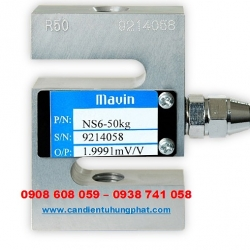 Loadcell NS6 Mavin 200kg - Cân điện tử Hưng Phát