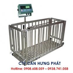 Cân heo điện tử 200kg - Cân gia súc 200kg - Cân điện tử Hưng Phát