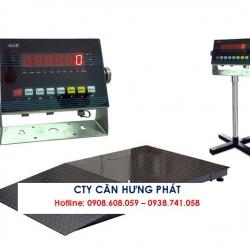 Cân sàn điện tử VIBRA HJ-R 3 tấn - Cân điện tử Hưng Phát