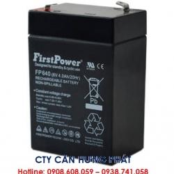 Bình ắc quy cân điện tử 6V4AH, 4V4AH, 6V12AH - Cân điện tử Hưng Phát
