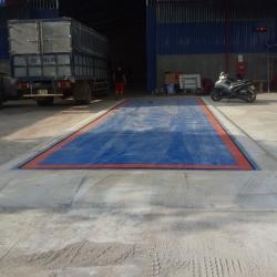 Thanh lý mua bán trạm cân xe tải 30 tấn - Cân điện tử Hưng Phát