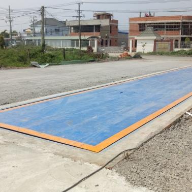 Thanh lý mua bán trạm cân ô tô 80 tấn - Cân điện tử Hưng Phát
